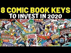 KEY COMIC BOOKS TO INVEST IN 2020 GUARANTEED TO GO UP || CHINOCOMICS&MORE