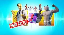 *NEW* Boss Battle Music Pack (All Bosses Rap in Fortnite)