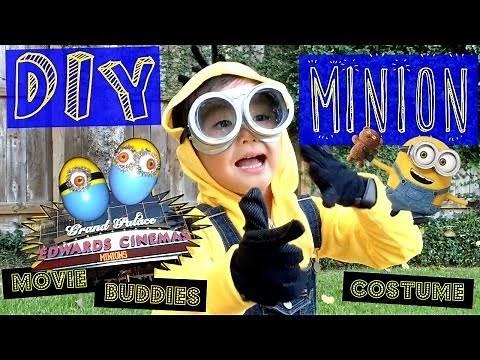 How to Make a Minion Costume - DIY Cute, best Halloween costume - Pierce'sWorld