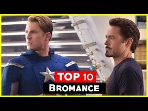 Top 10 Bromances in Comic Books and Movies