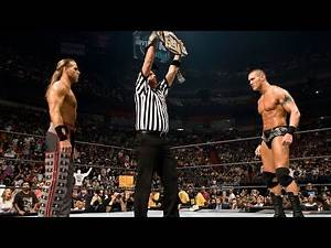 WWE Marquee Matches: Shawn Michaels drops Randy Orton with a Springboard Moonsault (WWE Network)