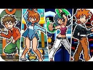 Pokémon HeartGold & SoulSilver - All Kanto Gym Leader Battles (1080p60)