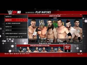 WWE 2K16 - Money In The Bank 2011