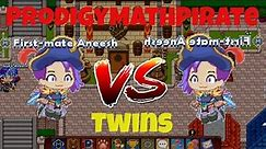 I Battle My TWIN In Prodigy Math Game