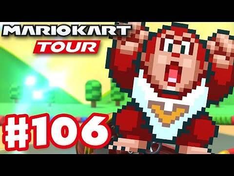 Donkey Kong Jr! Super Mario Kart Tour Week 2! - Mario Kart Tour - Gameplay Part 106 (iOS)