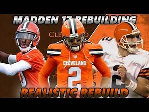 Madden 17 Connected Franchise | Realistic Rebuilding | Cleveland Browns TOTALLY L3G1T!! 1337 100%%%