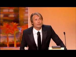 Mads Mikkelsen Wins Best Actor At Cannes-English Speech