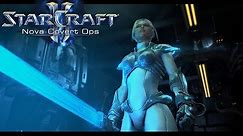 StarCraft 2: Nova Covert Ops - All Cinematics and Cutscenes
