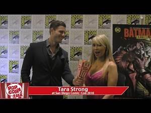 Tara Strong (Batman: The Killing Joke) at San Diego Comic-Con 2016