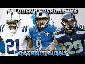 Madden 17 Connected Franchise | Rebuilding The Detroit Lions | Will The Lions Win a Super Bowl?