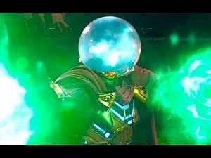 Mysterio Saves Peter Parker - Spider Man Far From Home - Marvel Disney Movie HD