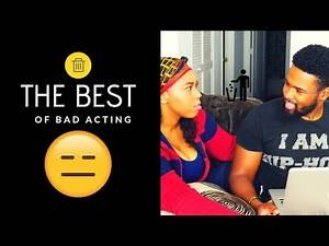 The Best of Bad Acting | REACTION
