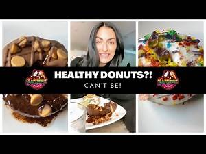 HEALTHY DONUTS?! CAN'T BE! Sonya Deville | WWE | Foodies