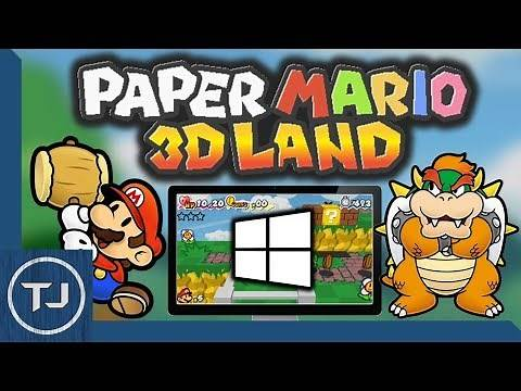 How To Install Paper Mario 3D Land (Windows 7/8/10) 2018!