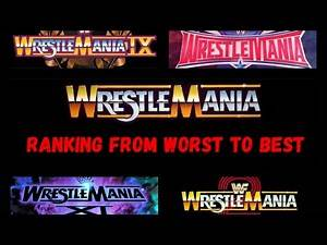 Ranking Every Wrestlemania Part 1 - The Bad