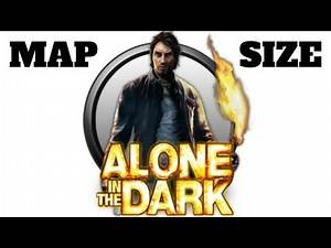 HOW BIG IS THE MAP in Alone in the Dark? Run Across the Map