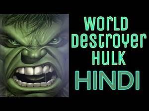 World Breaker Hulk   Comic Book Story   Explained in Hindi   BlueIceBear