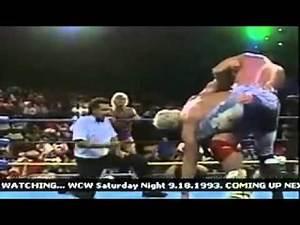 Ravishing Rick Rude and Sid Vicious vs Ric Flair and Dustin Rhodes