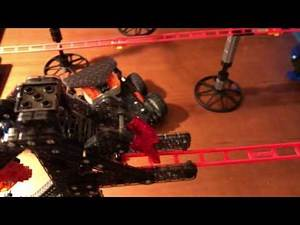 VEX IQ Robot Ball Lift for Skyrail Mini Rollercoaster (Track 1)