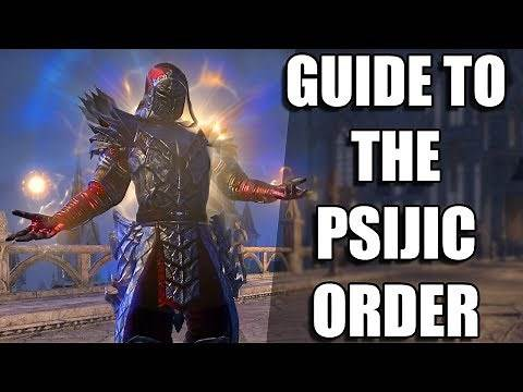 ESO GUIDE to the PSIJIC ORDER (Elder Scrolls Online Tutorial for PC, Xbox One, and PS4)