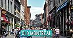 OLD MONTREAL Walking Tour Museum Visit   Quebec Canada S02E08