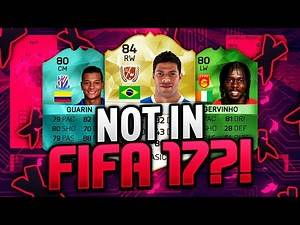 PLAYERS NOT IN FIFA 17!! PLAYERS REMOVED FROM THE GAME