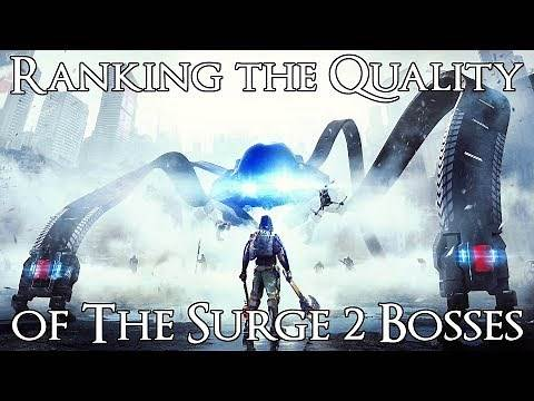 Ranking The Surge 2 Bosses from Worst to Best