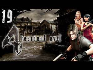 Lets Play Resident Evil 4 - Inside The Cage Of Death w/Girlfriend Chapter 3-3 Part 19