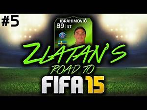 ZLATAN'S ROAD TO FIFA 15 #5 - 10 GOAL THRILLER!!! FIFA 14 ULTIMATE TEAM RTG!