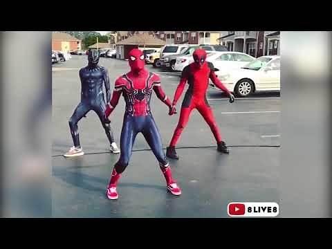 Superheros with Killer Dance Moves | Dj Casper Cha Cha Slide