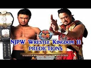 NJPW Wrestle Kingdom 11 NEVER Openweight Championship Katsuyori Shibata vs Hirooki Goto Predictions