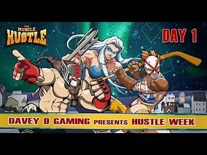 The Muscle Hustle- Hustle Week (Day 1)