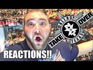 NXT TAKEOVER DALLAS REACTIONS! Grims Full Show Results and Review 4/1/16
