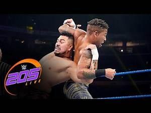 Raul Mendoza vs. Lio Rush: WWE 205 Live, Nov. 1, 2019