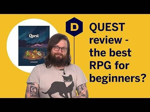 Quest tabletop RPG review - the definitive roleplaying game for beginners?