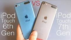 iPod Touch 7 Vs iPod Touch 6! (Comparison) (Review)