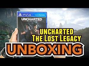 Uncharted The Lost Legacy (PS4) Unboxing !!