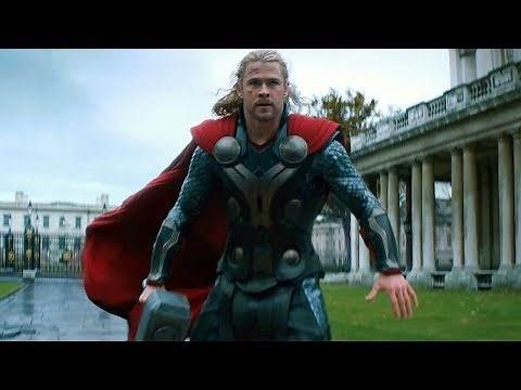 Thor vs Malekith - Final Battle Scene - Thor: The Dark World (2013) Movie CLIP HD
