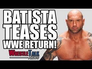 Shane McMahon Shoots On Backstage WWE! Batista Teases WWE Return! | WrestleTalk News May 2017