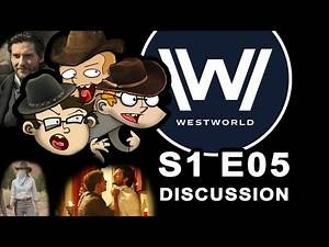 WESTWORLD s1 e05 Discussion with StS