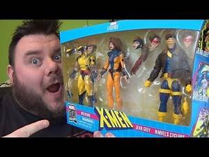 Marvel Legends X-Men 3-Pack Jean Grey Wolverine Cyclops Love Triangle Action Figure Review