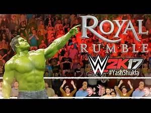 WWE 2K17 30 Man Royal Rumble Gameplay Match   Hulk Hardy Boyz Rey Mysterio Tajiri And More...