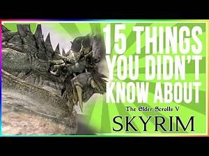Skyrim - Cool Facts About Dragons!