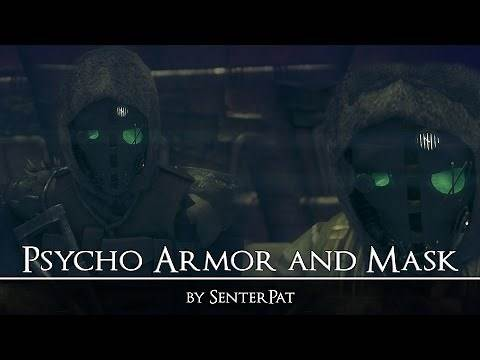 Psycho Armor and Mask - Fallout New Vegas - Mod Spotlight