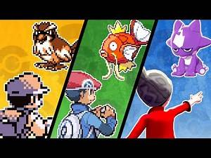 What is the Weakest Pokemon in EVERY Game?