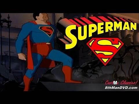 SUPERMAN CARTOON: Electric Earthquake (1942) (HD 1080p) | Bud Collyer, Joan Alexander, Jackson Beck