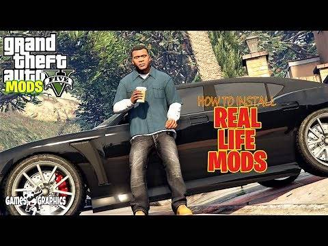 How to Install Real Life Mod 2 (2020) GTA 5 MODS