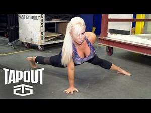 """Dana Brooke trains before entering the squared circle: """"Pre-Match Moments,"""" powered by Tapout"""