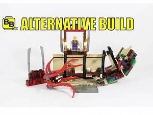LEGO MARVEL 76060 ALTERNATIVE BUILD THE ANCIENT ONE'S PALACE