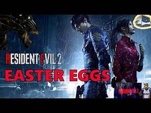 RESIDENT EVIL 2 Remake :- EASTER EGGS 2019 | Scary Aliens, Brad Vickers,we do it,,,,